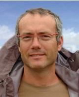 Professor Hervé Piégay, geographer, Lyon University